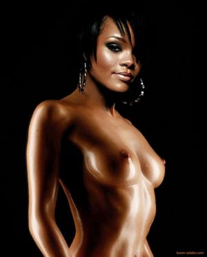 naked photos of rihanna