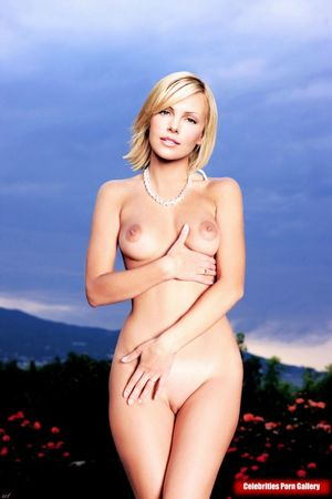 naked charlize theron
