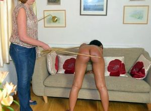 spanked black girl