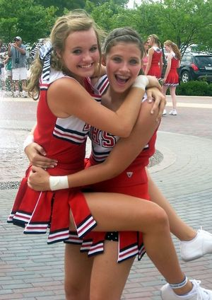 hot young cheerleaders