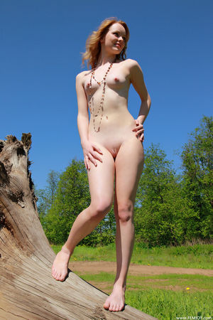 getting naked outdoors