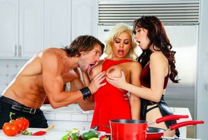 aria alexander threesome