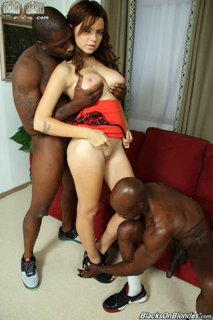 threesome interracial