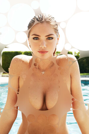 kate upton boobs gif