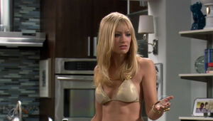 beth behrs topless