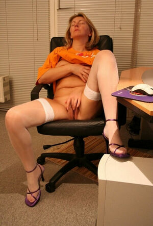 mature office porn