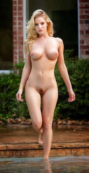 naked celeb standing