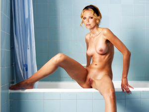 charleze theron nude
