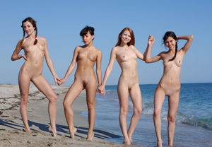 nudist colony nude