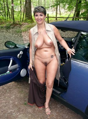 chubby mature nudist