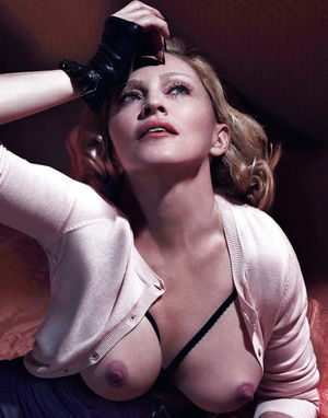 madonna exposes fans breast uncensored