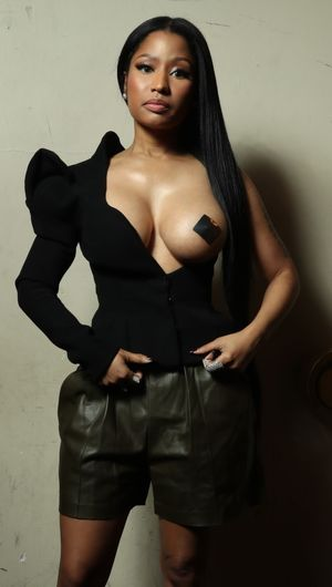 nicki minaj boobs real