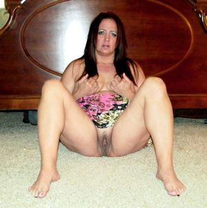 wife spread legs