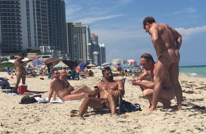 nudist beach miami