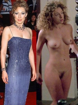 alex kingston tits