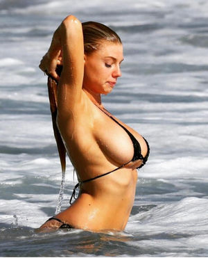 charlotte mckinney boobs real
