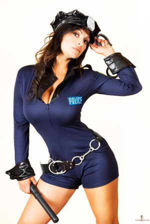 sexy police girl