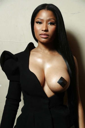 naked nicki minaj