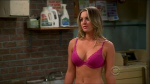 big bang theory penny naked