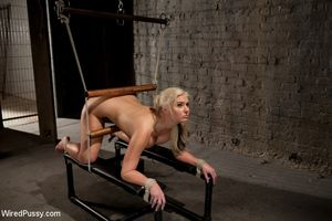 blonde teen bdsm
